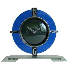 Fabulous Doxa Art Deco Clock! A real looker.
