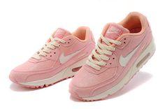 DATO SHOP  NIKE MAX90 亮片系列 白粉红 薄荷律 粉紅白 馬卡龍色 全新出货 女鞋 (22 5 25CM)