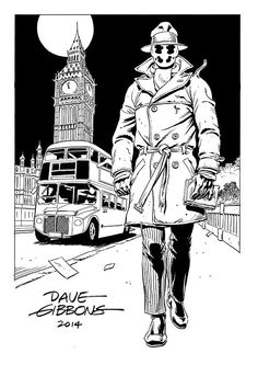 Rorsach by Dave Gibbons via Twitter