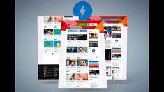 Amp Touch - Blogger template AMP HTML Gratis