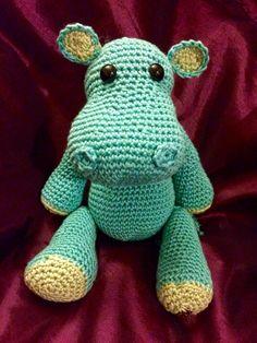 Kiboko - The Handmade Crochet Amigurumi Hippo by ManorCottageCrochet on Etsy https://www.etsy.com/uk/listing/464395202/kiboko-the-handmade-crochet-amigurumi