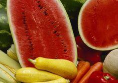 Kdy jindy si dopřávat čerstvou zeleninu než teď v létě. Ted, Watermelon, Fruit