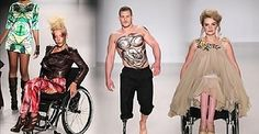 Disabled Models Take to Catwalk in Wheelchairs…