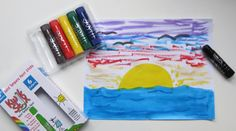 Kwik Stix Solid Tempera Paint Sticks: Mess Free Creativity