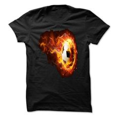 Awesome Football Lovers Tee Shirts Gift for you or your family member and your friend:  Soccer Fire.Limited Edition. Tee Shirts T-Shirts