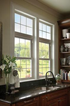 White Kitchen Windows With Colonial Grids View Our Photo Gallery For More Inspirational Window Ideas