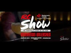 Restaurants Canada presents RC Show 2018 Innovation Unleashed. Join us at Enercare Centre on Feb 25-27-2018 in Toronto for the hospitality event of the year! Register Now