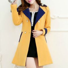 price:42.99usd  Style: Elegant  Material: Wool  Color: Yellow / Pink  Size: S / M / L / XL