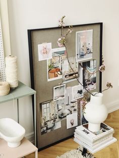8 Ways To Create a Cozy Office + Dining Corner — Home Office, Office Nook, Fabric Roman Shades, Dining Corner, Plant Box, Love Your Home, Farrow Ball, Paper Lanterns, Motivation