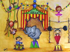 Circus Day by luvelosor on DeviantArt