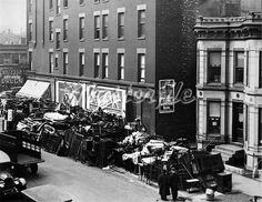 1930's great depression mass eviction photo