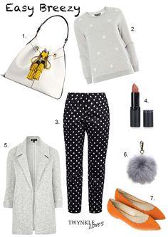 OUTFIT EDIT   EASY BREEZY: http://www.twynkleloves.com/2016/09/work-outfit-idea-edit-easy-breezy.html #OutfitEdit #OutfitIdeas #TwynkleLoves