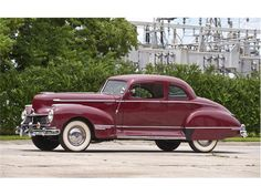 1946 Hudson Super 8 Two Door Sedan