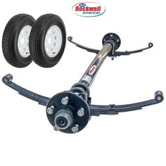 Utility Trailer Parts Kits with Rockwell American Trailer Axles