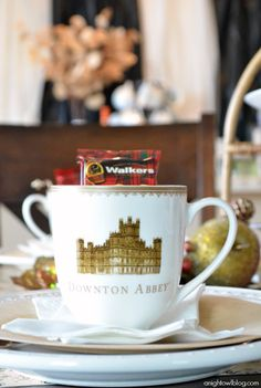 Throw a fun Downton Abbey Tea Party with amazing products from Cost Plus World Market! #DoTheDownton
