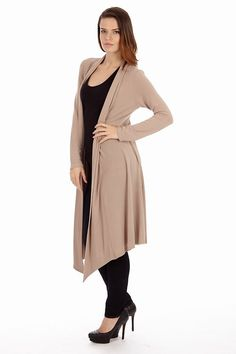 921ebe4f04117c Dinamit s Women Long Knit Open Front Cardigan at Amazon Women s Clothing  store  Open Front Cardigan
