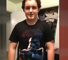 His Star Wars T-Shirt Includes a Character Holding a 'Gun.' His Father Is Calling School's Response 'Political Correctness Run Amok.' ...