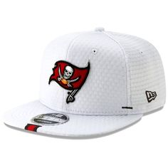 quality design 98108 110ed Men s Tampa Bay Buccaneers New Era White 2019 NFL Training Camp Original  Fit 9FIFTY Adjustable Snapback
