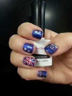 Australia Day mani 2014...love it!!!
