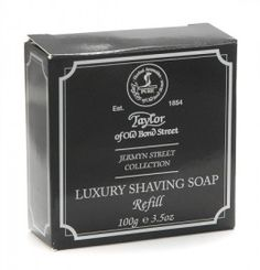Taylor of Old Bond Street Jermyn Street Shaving Soap Refill has been specially formulated for sensitive skin.
