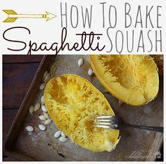 How To Bake Spaghetti Squash