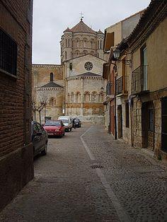 Vista de la Catedral de Toro, Zamora, País Llionés