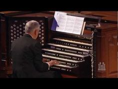 """Mormon Tabernacle Organist Clay Christiansen plays """"How Great Thou Art"""" arranged by Dale Wood. Mormon Tabernacle, Tabernacle Choir, Old Music, Lds, Songs, Mormons, Song Books"""