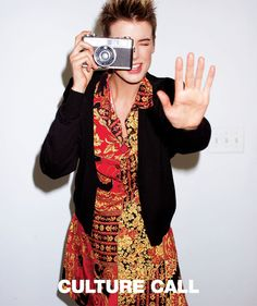 Agyness Deyn for Culture Call spring 11 campaign