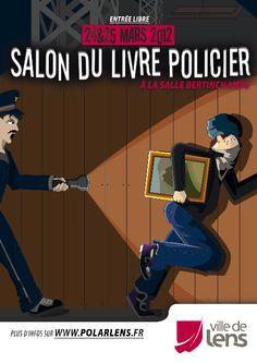 16ème édition Salon du livre policier de Lens  (62300) : 24-25/03/2012