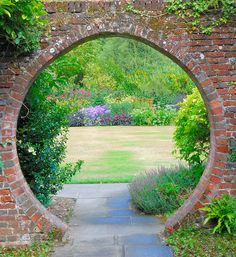 Entry into a garden, maybe