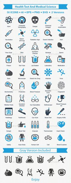 Buy Health Test And Medical Science Icons by Bismillah_bd on GraphicRiver. Beautiful, meticulously designed Health Test And Medical Science Icons. Perfect for use in designing and developing w. Medical Jokes, Medical Symbols, Medical Icon, Medical Logo, Medical Art, Medical Science, Icon Design, Logo Design, Graphic Design