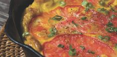 This frittata recipe uses both fresh and smoked mozzarella to bring some depth…