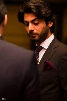 Fawad Afzal Khan at Ahmed Ali Butt's wedding