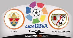 Prognóstico Elche vs Rayo Vallecano: O lanterna vermelha Elche recebe o Rayo Vallecano, num jogo que encerra a 22ª jornada da Liga Espanhola. Dois aflitos... http://academiadetips.com/equipa/prognostico-elche-vs-rayo-vallecano/