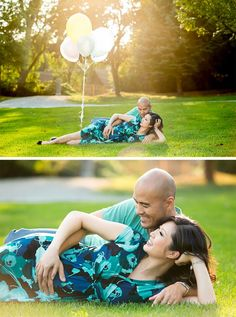 #Maternity, #Pregnancy #Photography #Balloons