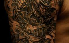 Upper Arm Half Sleeve Tattoos for Men