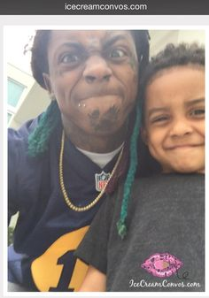Lil Wayne and Lauren London's son, Cameron