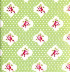 Tanya Whelan Darla 'Rosie Dot' Green for by SouthernSeamsFabrics, $7.50