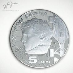 Moeda especial de 5 euros presta homenagem a Ayrton Senna na Europa (Foto: Divulgação  )