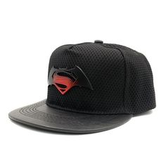 99ffce2f0a3e4 2016 New Batman VS Superman Vs Batman American DC Animation Comic Cartoon  Fans Baseball Snapback Cap Hat For Adult Men
