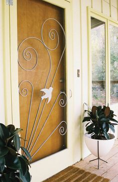 2 Manufacturers   18 Styles   Screen Door Inserts With Herons, Flamingos  And More
