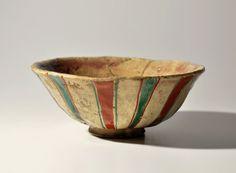 Kyoyaki Aruhei chawan Tebineri tea bowl Edo 19th