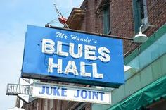 Mr. Handy's Blues Hall Juke Joint in Memphis, Tennessee