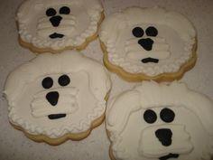 Bichon cookies! *giggle*