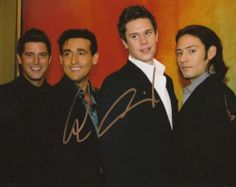 IL DIVO Signed Autographed 8x10 Photo x2 CARLOS MARIN DAVID MILLER COA