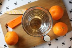 Adding Young Living's Orange oil to your water can make it flavorful enough to entice you to drink more.
