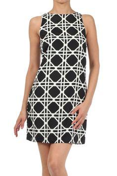 A Belle Boutique Black Diamond Dress