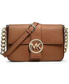 Michael Kors Handbags - Macy's  Fulton Small Messenger Bag - Luggage Web ID: 839718