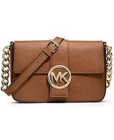 Michael Kors Handbags - Macy's  Fulton Small Messenger Bag - Luggage Web ID: 839718