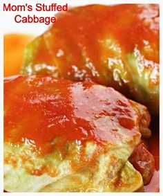 Stuffed Cabbage. A polish recipe handed down from my grandma and mom. You will love this!! This is the most detailed recipe for this Heaven in a cabbage leaf that I have ever seen! :D